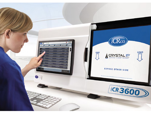 Medical Electronics : New iCRco iCR 3600 CR System