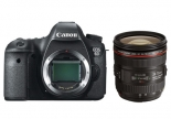 canon eos 6d with ef 24-70mm f 4 l is usm kit