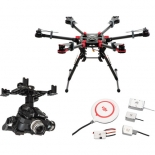 dji spreading wings s900 with z15-gh4 (hd) gimbal and a2 flight controller