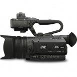 jvc gy-hm170ua 4kcam compact professional camcorder with top handle audio unit.1
