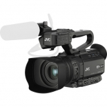 jvc gy-hm200sp 4kcam compact handheld streaming camcorder.1